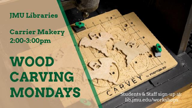 Wood Carving Mondays
