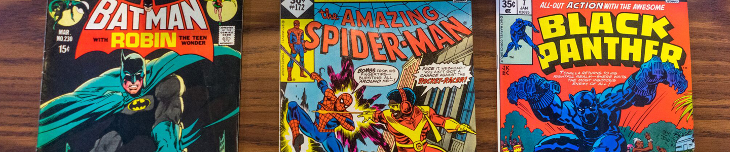 Comic Books in Special Collections
