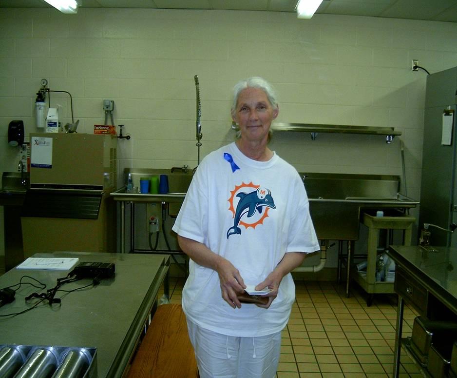 Photograph of Pat Morrison