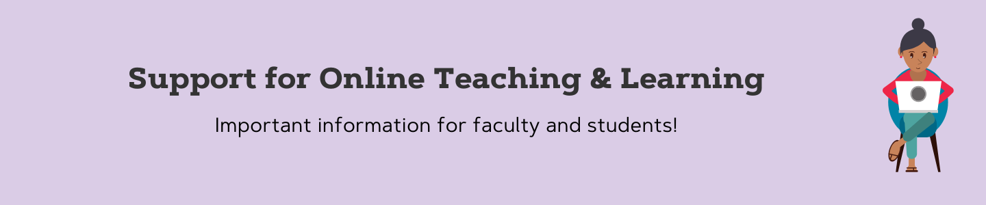 Online Teaching and Learning information