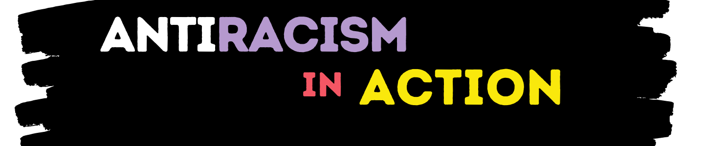 Antiracism in Action book display