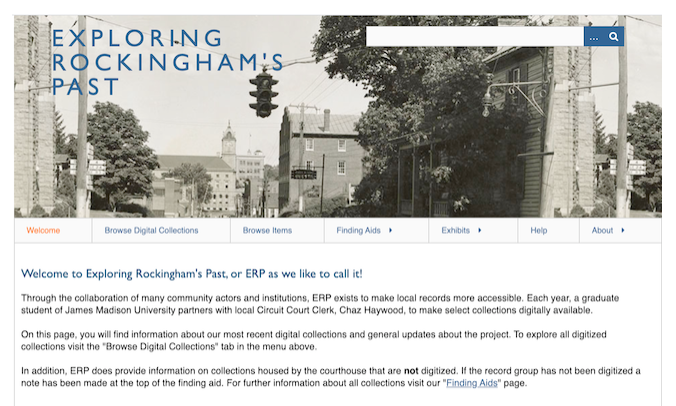 Exploring Rockingham's Past Screenshot