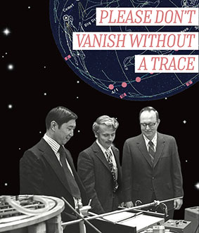 Please Don't Vanish Without a Trace Flyer