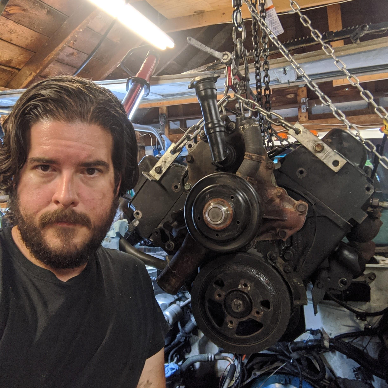 Jack Garmer headshot engine background