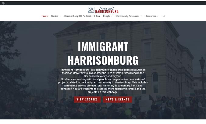 Immigrant Harrisonburg screenshot