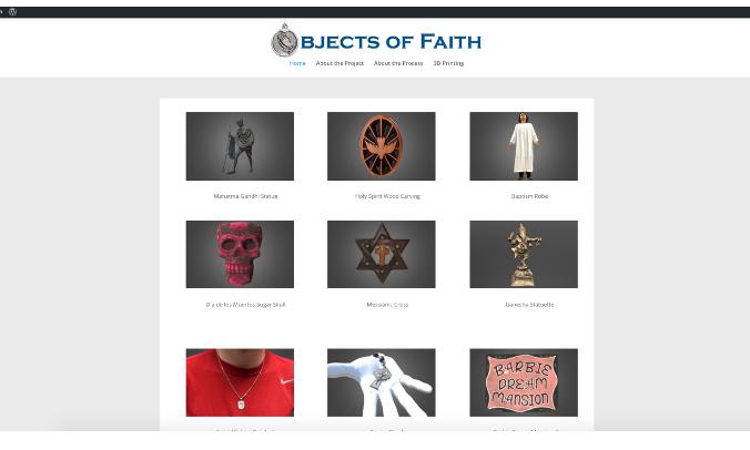 Objects of Faith Screenshot