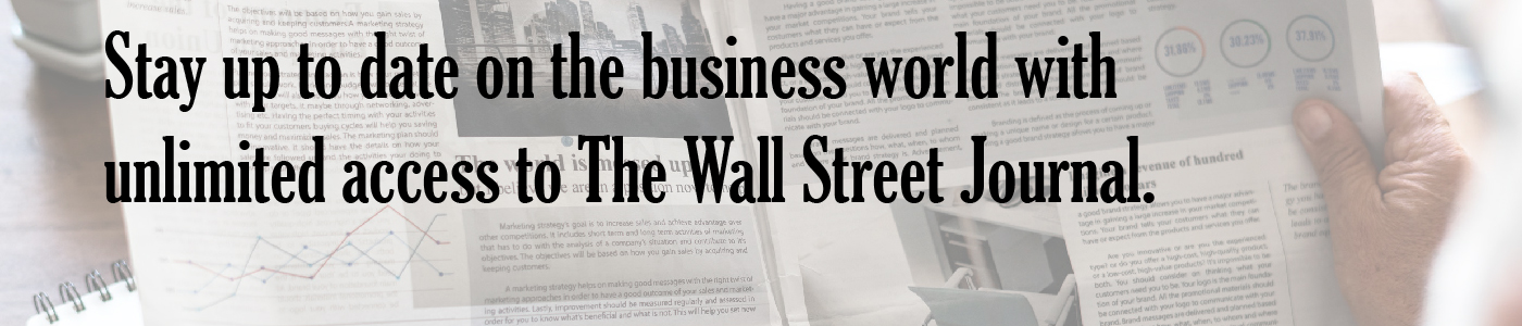 Wall Street Journal Access