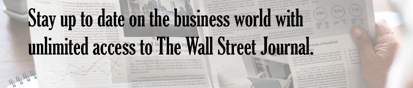 Wall Street Journal Access