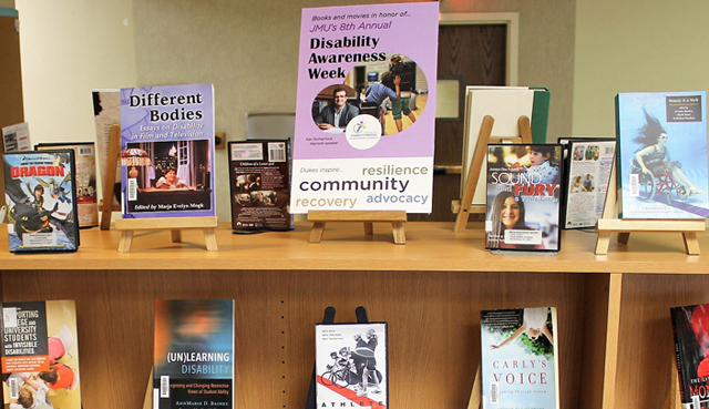 Disability Awareness Book Display