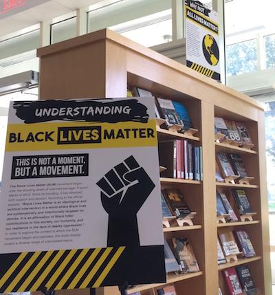 Black Lives Matter Book Display
