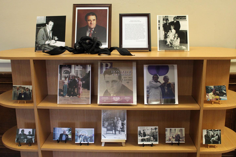 Dr. Carrier Memorial Exhibit