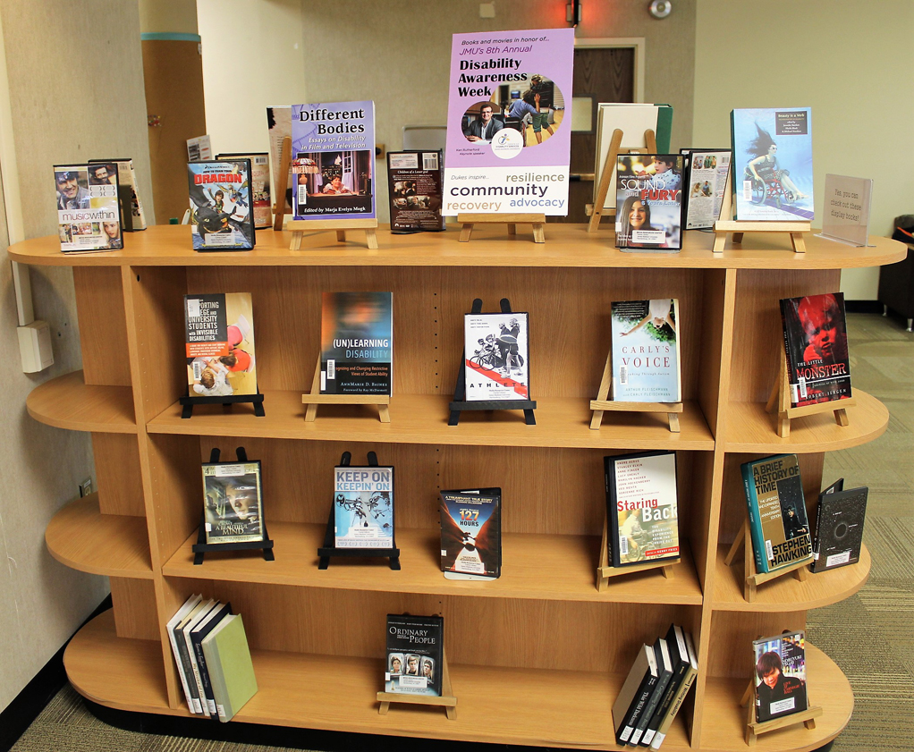 Disability Awareness Week Book Display
