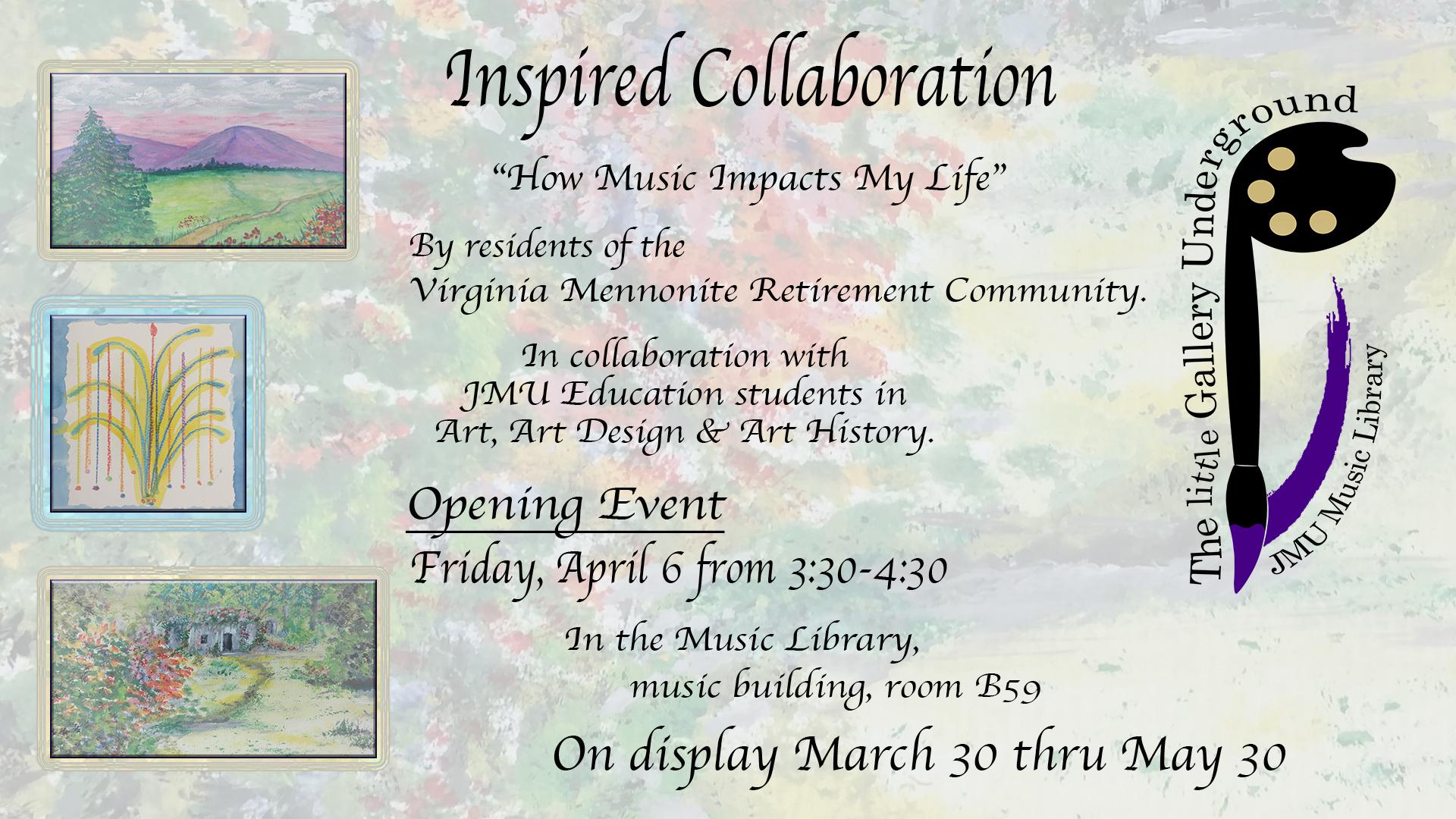 Inspiring Collaboration Exhibit Announcement