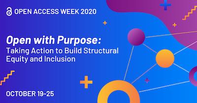 Open Access Week 2020 Banner